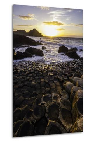 Giant's Causeway Lies at the Foot of Basalt Cliffs on the Edge of the Antrim Plateau-Jonathan Irish-Metal Print