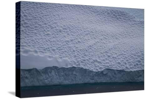 Dappled Surface of an Iceberg Off Cierva Cover-David Griffin-Stretched Canvas Print