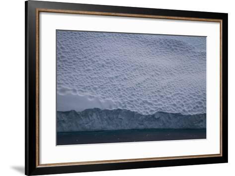 Dappled Surface of an Iceberg Off Cierva Cover-David Griffin-Framed Art Print