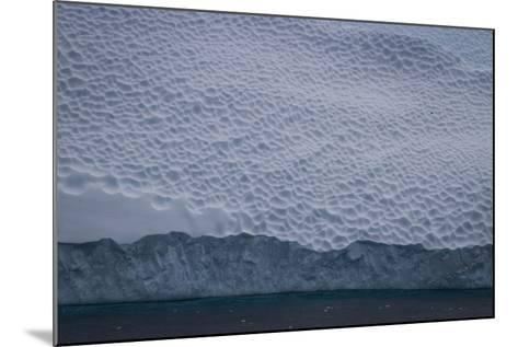Dappled Surface of an Iceberg Off Cierva Cover-David Griffin-Mounted Photographic Print