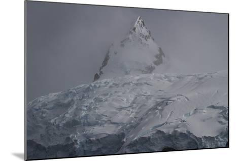 Glacier and Mountain in Cierva Cover-David Griffin-Mounted Photographic Print