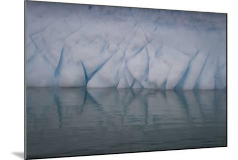 Ice Patterns on Cuverville Island-David Griffin-Mounted Photographic Print