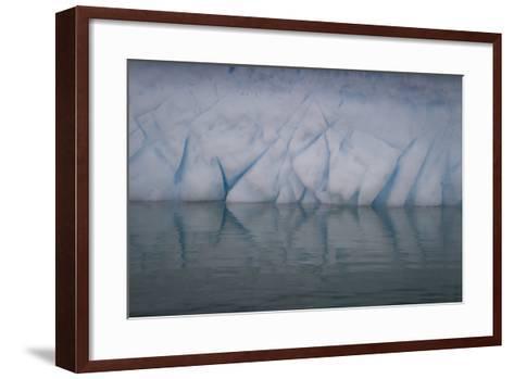 Ice Patterns on Cuverville Island-David Griffin-Framed Art Print