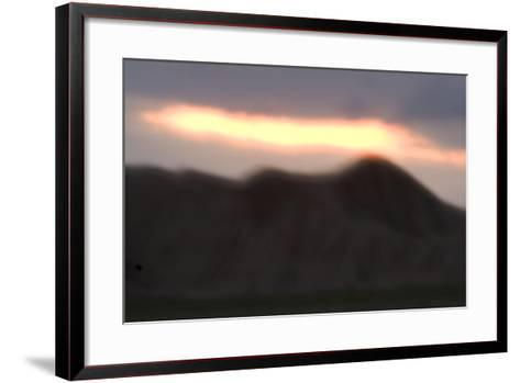Oglala National Grassland During Sunrise in Nebraska-Philip Schermeister-Framed Art Print