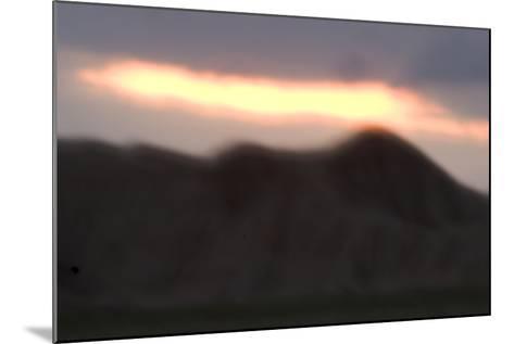 Oglala National Grassland During Sunrise in Nebraska-Philip Schermeister-Mounted Photographic Print