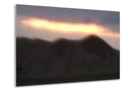 Oglala National Grassland During Sunrise in Nebraska-Philip Schermeister-Metal Print