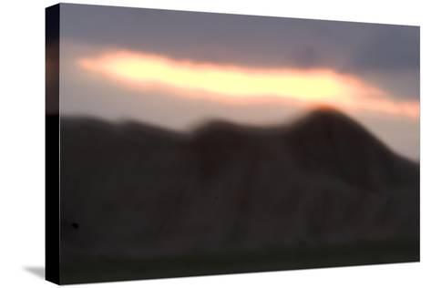 Oglala National Grassland During Sunrise in Nebraska-Philip Schermeister-Stretched Canvas Print