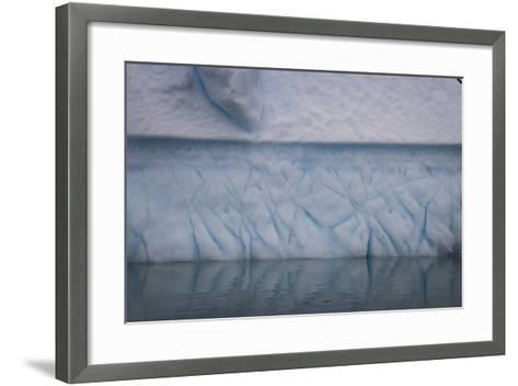 Ice Patterns on Cuverville Island-David Griffin-Framed Art Print