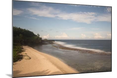 An Empty White Sand Beach-Gabby Salazar-Mounted Photographic Print