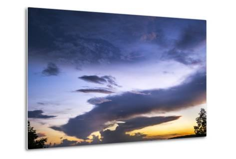 The Conclusion of an Extraordinary Sunset at Morgans Steep-Stephen Alvarez-Metal Print