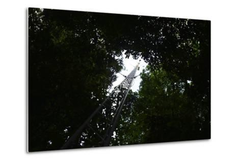 A Radio Tower, Used for Radio Tracking and Telemetry of Radio Tagged Species-Jonathan Kingston-Metal Print