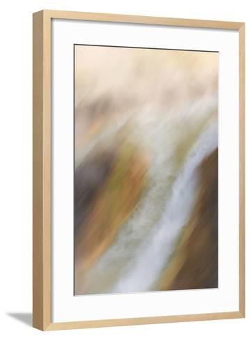 A Geothermal Feature in Yellowstone National Park-Philip Schermeister-Framed Art Print