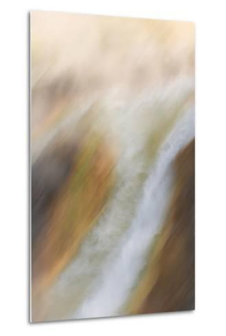A Geothermal Feature in Yellowstone National Park-Philip Schermeister-Metal Print