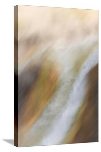 A Geothermal Feature in Yellowstone National Park-Philip Schermeister-Stretched Canvas Print