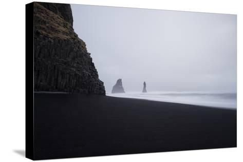 Reynisdrangar Spires Rise from the Ocean-Chad Copeland-Stretched Canvas Print