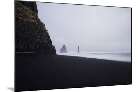 Reynisdrangar Spires Rise from the Ocean-Chad Copeland-Mounted Photographic Print