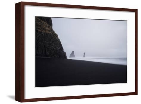 Reynisdrangar Spires Rise from the Ocean-Chad Copeland-Framed Art Print