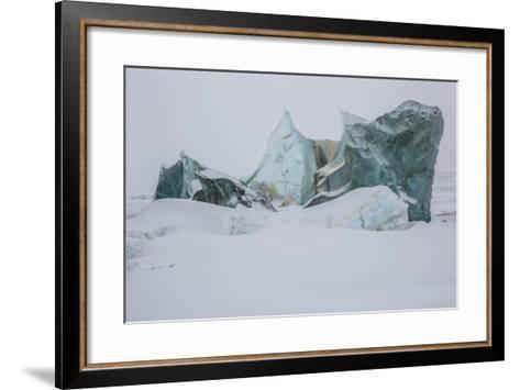An Ice Formation in Western Greenland-Cristina Mittermeier-Framed Art Print