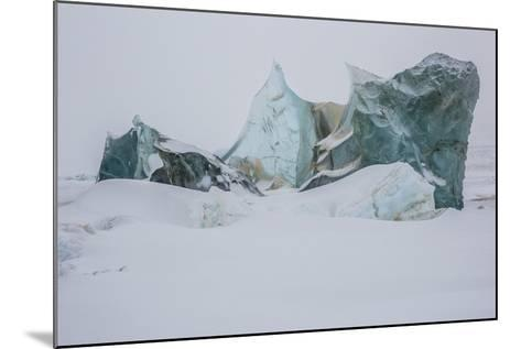 An Ice Formation in Western Greenland-Cristina Mittermeier-Mounted Photographic Print