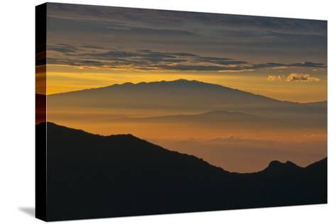 Sunrise Atop Haleakala, an Extinct Volcano on the Island of Maui in Hawaii-Karen Kasmauski-Stretched Canvas Print
