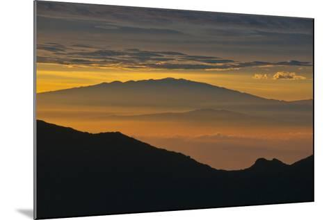 Sunrise Atop Haleakala, an Extinct Volcano on the Island of Maui in Hawaii-Karen Kasmauski-Mounted Photographic Print