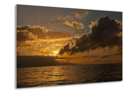 Dawn Breaking over the Coastline of Maui-Karen Kasmauski-Metal Print