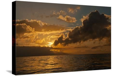 Dawn Breaking over the Coastline of Maui-Karen Kasmauski-Stretched Canvas Print