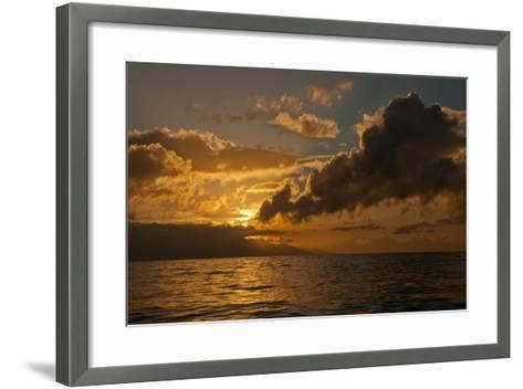 Dawn Breaking over the Coastline of Maui-Karen Kasmauski-Framed Art Print