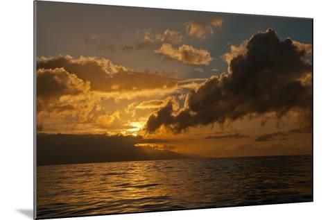 Dawn Breaking over the Coastline of Maui-Karen Kasmauski-Mounted Photographic Print