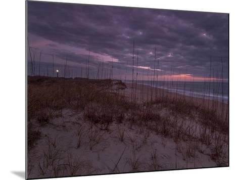 Cape Lookout Lighthouse on the Outer Banks of North Carolina-Jay Dickman-Mounted Photographic Print