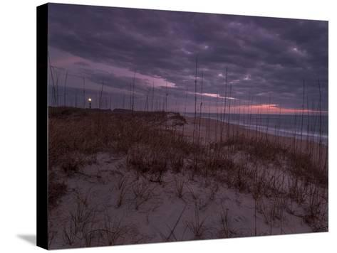 Cape Lookout Lighthouse on the Outer Banks of North Carolina-Jay Dickman-Stretched Canvas Print