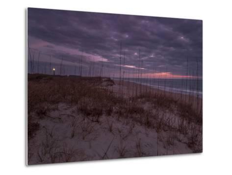 Cape Lookout Lighthouse on the Outer Banks of North Carolina-Jay Dickman-Metal Print