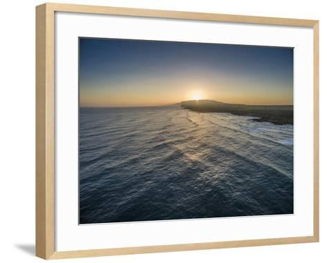 Sunrise Above Ka'Ehu Point on Molokai's North Shore-Richard A^ Cooke-Framed Art Print
