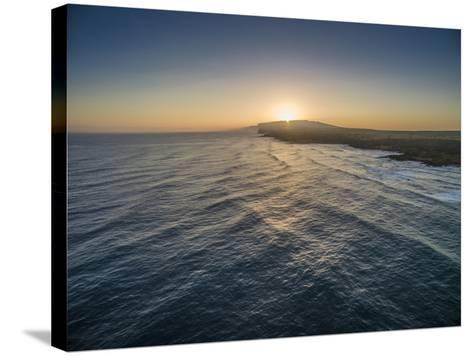 Sunrise Above Ka'Ehu Point on Molokai's North Shore-Richard A^ Cooke-Stretched Canvas Print