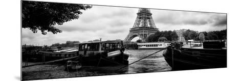 Paris sur Seine Collection - The Eiffel Tower and the Quays II-Philippe Hugonnard-Mounted Photographic Print