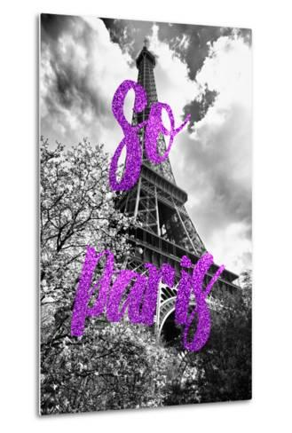 Paris Fashion Series - So Paris - Eiffel Tower III-Philippe Hugonnard-Metal Print