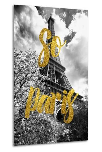 Paris Fashion Series - So Paris - Eiffel Tower-Philippe Hugonnard-Metal Print