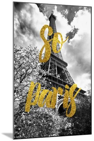 Paris Fashion Series - So Paris - Eiffel Tower-Philippe Hugonnard-Mounted Photographic Print