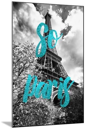 Paris Fashion Series - So Paris - Eiffel Tower II-Philippe Hugonnard-Mounted Photographic Print