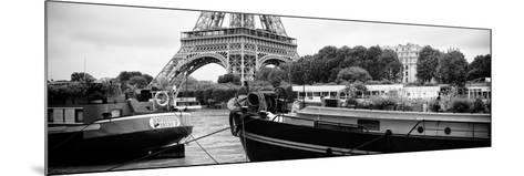 Paris sur Seine Collection - The Eiffel Tower and the Quays XVII-Philippe Hugonnard-Mounted Photographic Print