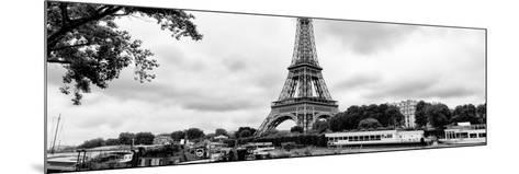 Paris sur Seine Collection - The Eiffel Tower and the Quays XV-Philippe Hugonnard-Mounted Photographic Print