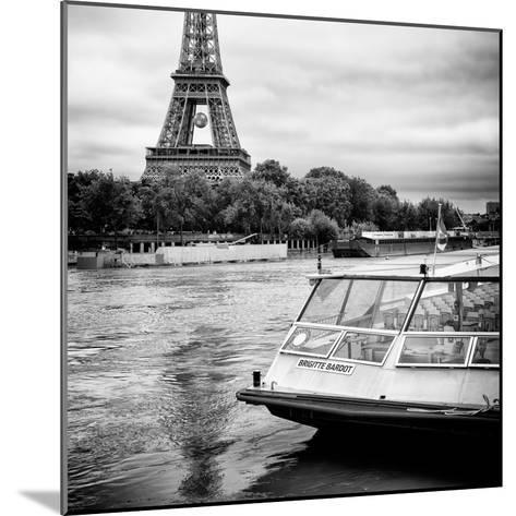 Paris sur Seine Collection - BB Boat III-Philippe Hugonnard-Mounted Photographic Print