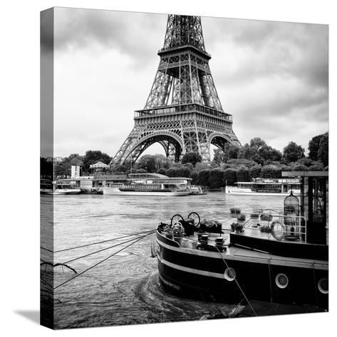 Paris sur Seine Collection - Vedettes de Paris VI-Philippe Hugonnard-Stretched Canvas Print