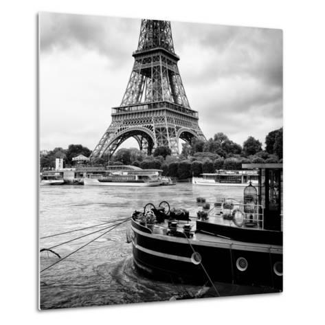 Paris sur Seine Collection - Vedettes de Paris VI-Philippe Hugonnard-Metal Print