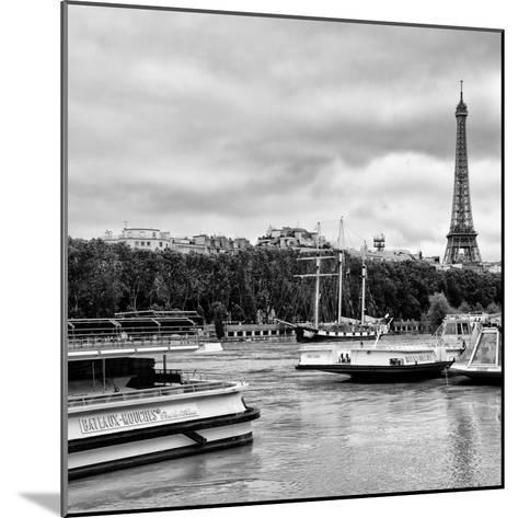 Paris sur Seine Collection - Bateaux Mouches XI-Philippe Hugonnard-Mounted Photographic Print