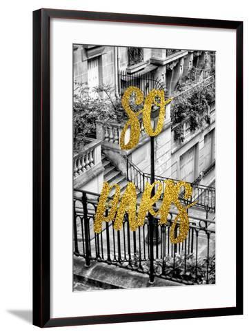 Paris Fashion Series - So Paris - Stairs of Montmartre-Philippe Hugonnard-Framed Art Print