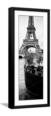 Paris sur Seine Collection - Destination Eiffel Tower III-Philippe Hugonnard-Framed Art Print