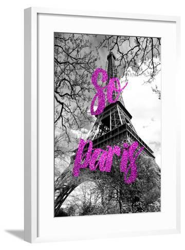 Paris Fashion Series - So Paris - The Eiffel Tower II-Philippe Hugonnard-Framed Art Print