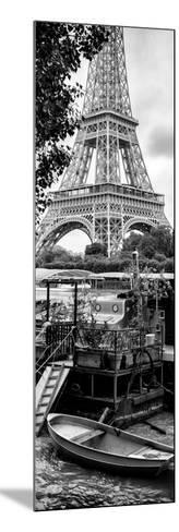 Paris sur Seine Collection - Eiffel Boat II-Philippe Hugonnard-Mounted Photographic Print