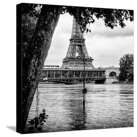 Paris sur Seine Collection - Eiffel Bridge III-Philippe Hugonnard-Stretched Canvas Print